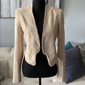 Cream Colored Blazer, size XS